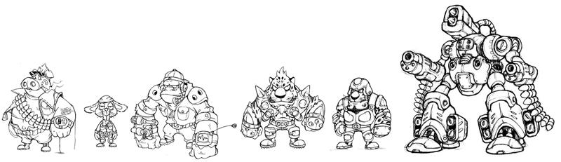 高级游戏动漫人物原画设计:/动漫专业学生 游戏设计专业学生/插画设计师 喜欢人物原画的学生对基础的要求很高,我们的人物原画教学时为学生打好扎实的造型为基础能够达到一定的高度!我们的很多原画学生已经是各个大公司的原画就证明了我们的教学质量了。 人物形体的大概表现: 1.