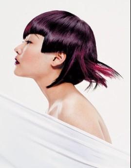 发型师设计思维,结合圆三角剪裁概念完美呈现立体