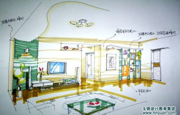 长沙手绘设计培训_玉锦装饰设计_上学吧培训超市