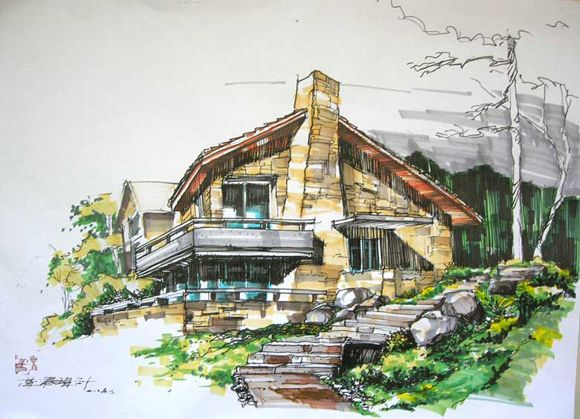 厦门建筑景观手绘培训(交泰设计)